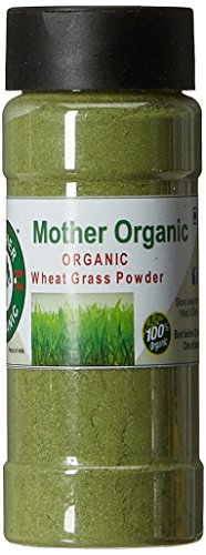 Mother Organic Wheat Grass Powder, 50g  available at amazon for Rs.207