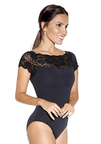 So Dança E-10945 Kurzarm-T-Shirt, Damen XS weiß
