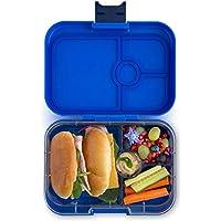 Preisvergleich für Yumbox Panino M Bento Box - mittelgroß, mit 4 Fächern | Lunchbox mit Trennwänden | Kindergarten Kinder, Schulanfang, Erwachsene (Neptune Blue)
