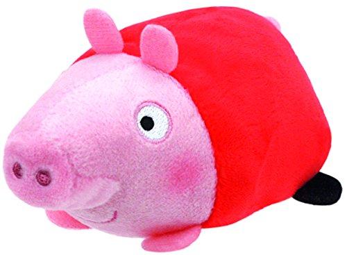 Ty - TY42175 - Teeny TYS - Peppa Pig - Plüsch Peppa 8 cm
