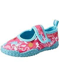 Playshoes Badeschuhe Flamingo Mit UV-Schutz, Zapatillas Impermeables Unisex niños