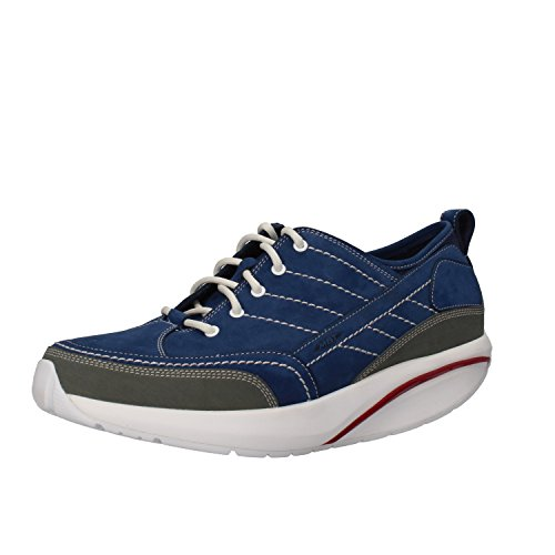 MBT Sneakers Uomo Nabuk Blu