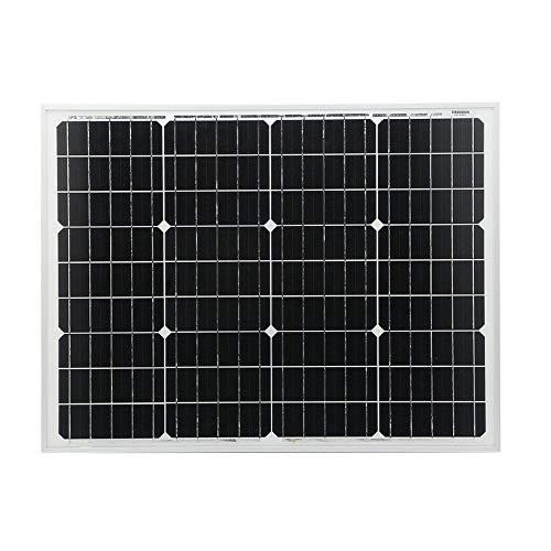 fghfhfgjdfj High Efficiency Sunpower Charger 50W 12V Outdoor Solar Charging Device Portable Moncrystalline Solar Panel Module
