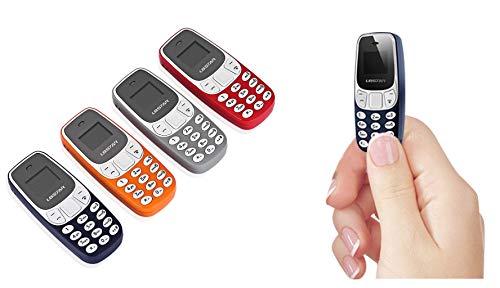 takestop Mini Phone Téléphone Portable BM10Smartphone 6.5x 3cm Dual SIM 0,66Pouces mp3mp4Lecteur de Musique Bluetooth sans Fil Couleur aléatoire