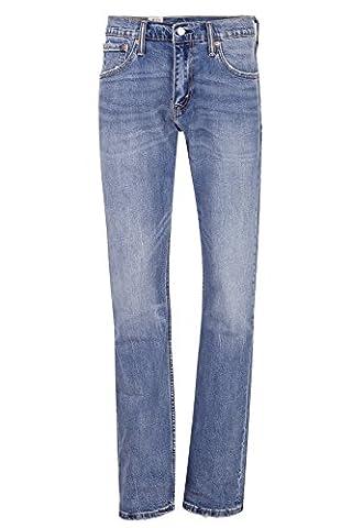 Levi's Herren Jeans Boot Cut 527 SLIM BOOT CUT STRETCH 537 GOLD MINE, Farbe: Hellblau, Größe: 32/30