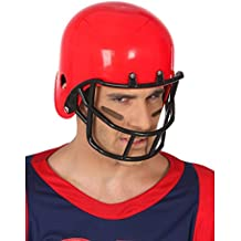 Atosa - Casco Rugby Rojo - AT 49315 - Sombreros, Gorros, Cascos y Diademas