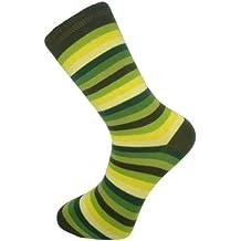 Mysocks® calcetines rayados de colores diseñados con el mejor algodón peinado