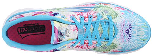 Skechers - Go Fit Trbayrose, Scarpe da ginnastica Donna Blu (Blu (BLMT))