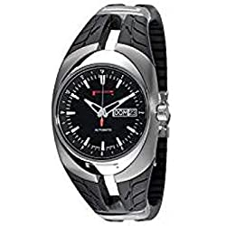 Pirelli R7953902125 Men Quartz Watch (Rechargeable) Titanium quandrante Black Strap Titanium