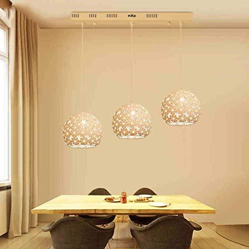 3w Single (MARK die Moderne Beleuchtung der Beleuchtung Chandelier Restaurant/Single Head, DREI der Kopf/Crystal Chandeliers von Innenbeleuchtung,Single + 3w weißes Licht)