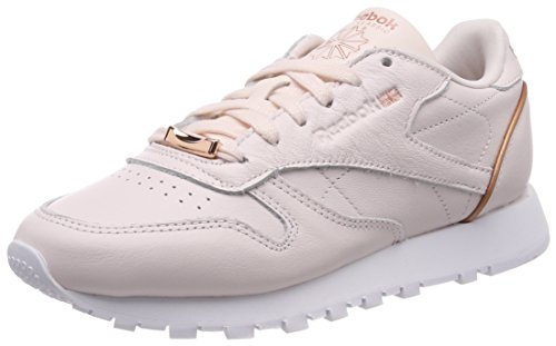 Reebok Classic Leather Hardware, Zapatillas para Mujer, Rosa (Pale...