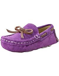 OCHENTA Chicos Chicas Suede Patinaje Al Aire Libre Zapatos Casuales Zapatos Planos (Niño/Niño pequeño)