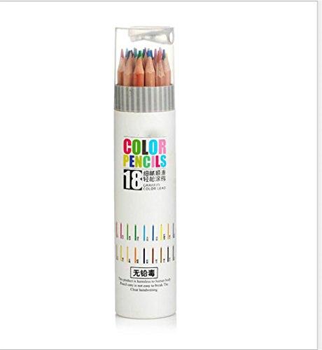HNBGY Distinctive 18 lápices para Colorear Infantiles de Alta Calidad para niños
