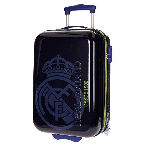 Real Madrid Hala Equipaje Infantil, 50 cm, 26 Litros, Azul