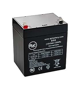 Batterie GS Portalac PE12V4.5 12V 5Ah Lampe de secours - Ce produit est un article de remplacement de la marque AJC®
