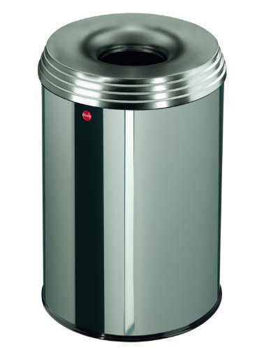 hailo-flame-extinguishing-waste-bin-profiline-safe-30l-stainless-steel