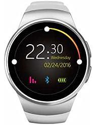 Bluetooth Smartwatch Telefon mit GPS funktion Anti-Verlust smartwatch,Elegantes aussehen,praktisch Pulsuhren,Gesundheitsdaten Synchronisation,Freisprechen Anrufe Sport uhr unterstützung iPhone Android Handys