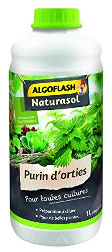 ALGOFLASH NATURASOL ALPURIN Purin d'orties liquide Vert 9 x 9 x 23 cm 1 L