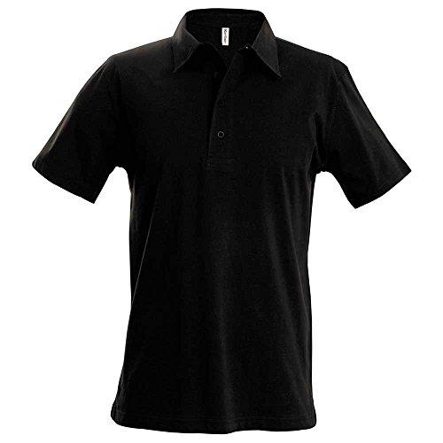 KaribanHerren Poloshirt schwarz - schwarz
