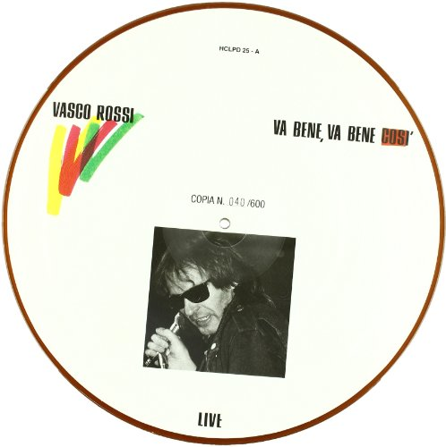 picture disc vinile  Va Bene Va Bene Cosi'(Picture Disc) - Vinile Shop