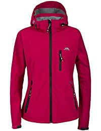 Trespass Bela Softhsell TP75 Chaqueta, Mujer, Rosa (CER), M