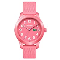Lacoste Unisex-Kids Analogue Classic Quartz Watch with Silicone Strap 2030006