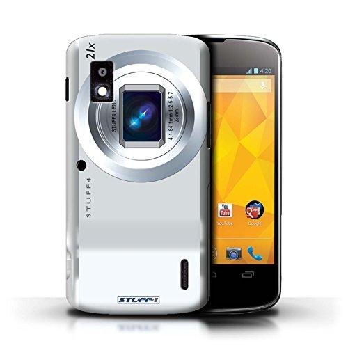 Kobalt® Imprimé Etui / Coque pour LG Nexus 4/E960 / Sportif conception / Série Appareil Photo Compact