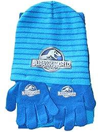 Factorycr - Ensemble bonnet, écharpe et gants - Garçon Bleu bleu Taille  unique ed2fe32ad4a