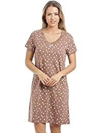 Camille and Print Smooth Soft Cotton Summer Nightdresses