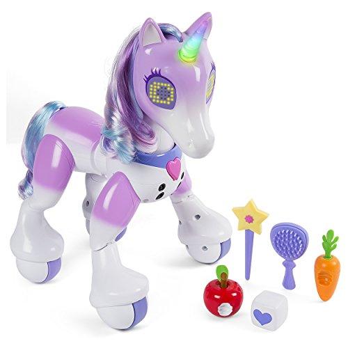 elektrisches pferd Zoomer 6040309 - Enchanted Unicorn, interaktives Einhorn