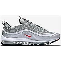 TG. 38 EU Grigio Dark Grey/black/green Glow/metallic Silver Nike Wmns Free T