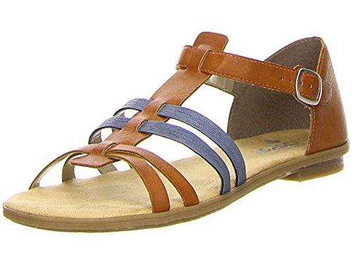 Rieker 64288-25 Damen Sandalette bis 30mm Absatz