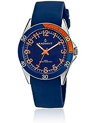 Radiant RA168602 - Reloj con correa de resina para niños, color azul / gris