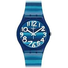 Swatch Orologio Unisex Analogico al Quarzo con Cinturino in Plastica \u2013 GN237