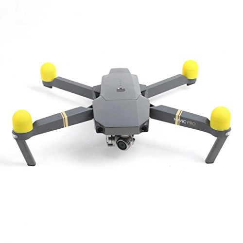 gotd 4schwarz Silica Gel Motor Schutz Cover Zubehör für DJI Mavic Pro Drone M gelb