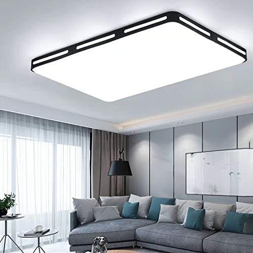 Luce soggiorno moderno minimalista luce rotonda telecomando intelligente camera da letto quadrata plafoniera bianco 45x45 quadrati