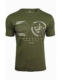 Mens Crosshatch Dotcam Designer Brushed Cotton T Shirt