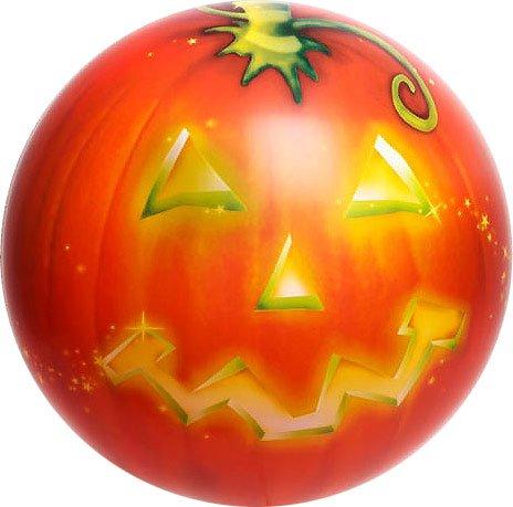 Halloween pumpkin Jack O Lantern 22inch Bubble Balloon - orange pumpkin stretchy plastic