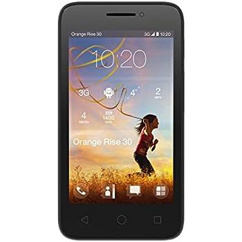 Orange Rise 30 Smartphone Débloqués 4.0 (3.15 MP, 2048 x 1536 pixels, autofocus, vidéo) noir