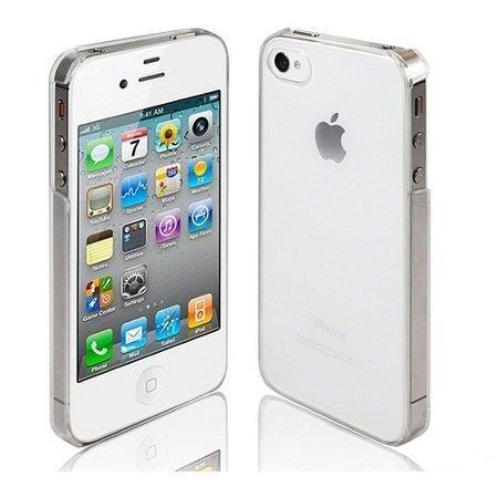 iPhone 4S 4 Hülle Hard Case durchsichtig transparent Clear Polycarbonat Schutzhülle iPhone4 iPhone4S - TheSmartGuard