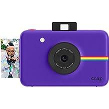 Polaroid Cámara digital instantánea Snap (Purpura) con la tecnología de impresión ZINK Zero Ink