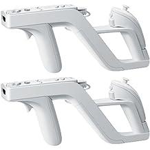 2 Zapper Pistola Gun para Mando Control Nintendo Wii