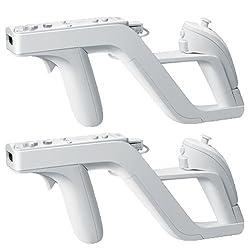 Dcolor 2 X Zapper Gun For Nintendo Wii Remote Controller