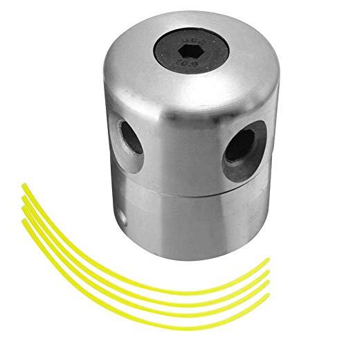 1989candy Aluminium Rasentrimmerkopf Freischneider Kopf Rasenmäher Cut Zubehör