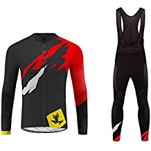 Uglyfrog  02 Completo Ciclismo Abbigliamento Inverno Panno Termico Set di  Abbigliamento Ciclista Maniche Lunghe Antivento 94808f93701