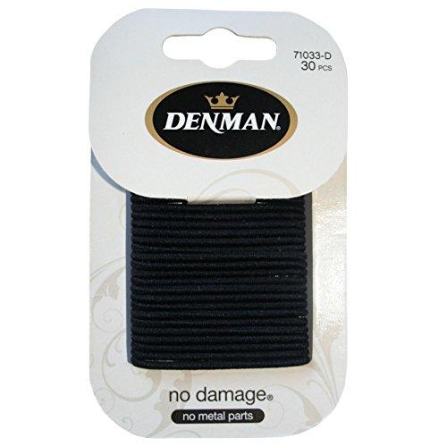 Denman No Damage Elastics x 30 (Pack of 2)