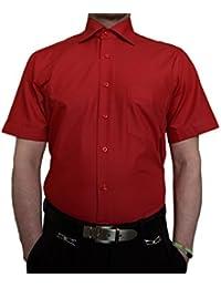 b64f74ee46220a Tonelli Herren Designer Hemden B-Ware Freizeit Hemd TK11KAT Kurz Arm  klassischer Kent Kragen 2