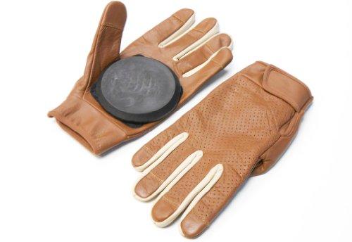 Qualità Premium in pelle Guanti da Slide/Freeride Gloves.-Guanti da Longboard,