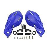 GOOFIT 22mm Lenker Handschalen Handguards Set für Motocross Motorrad Pit Dirt Bike ATV Blau