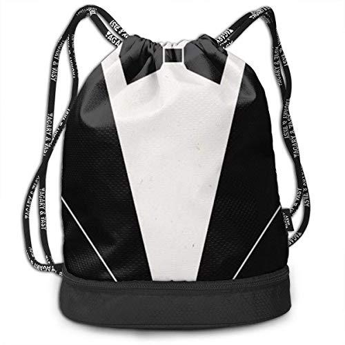 Tragen Bow Tie Tuxedo (wwoman Girls Boys Drawstring Backpack Theft Proof Lightweight Beam Backpack, Travel Shoulder Bags - Bow Tie Tuxedo Waterproof Backpack Soccer Basketball Bag)